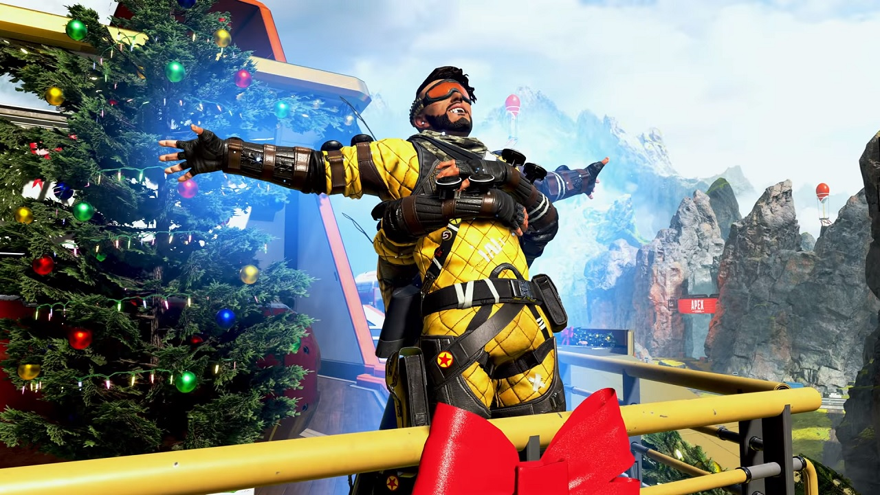 Mirage's themed event was based around Christmas.