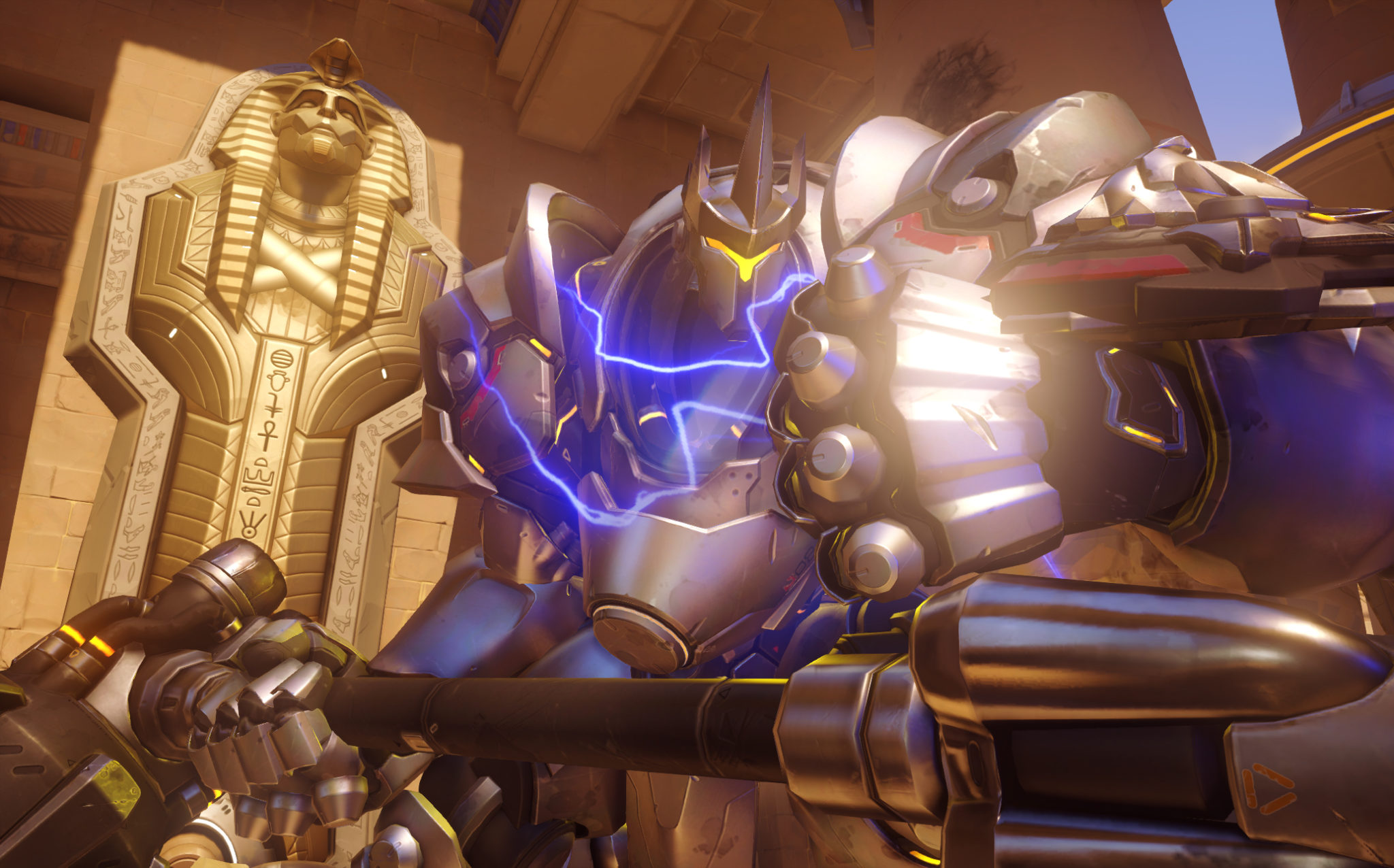 Reinhardt charges on Temple