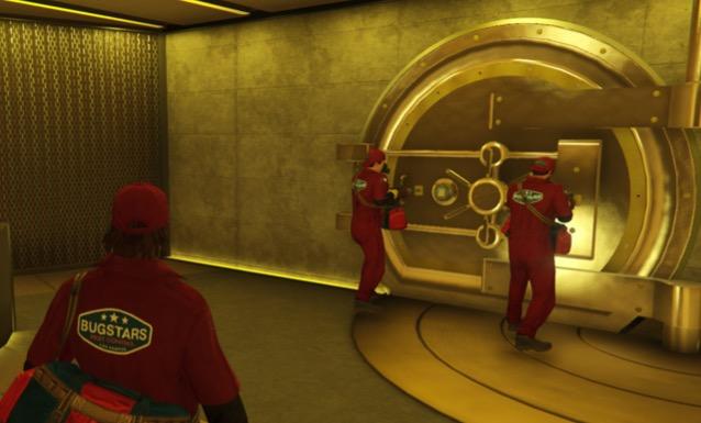 GTA Casino heist vault