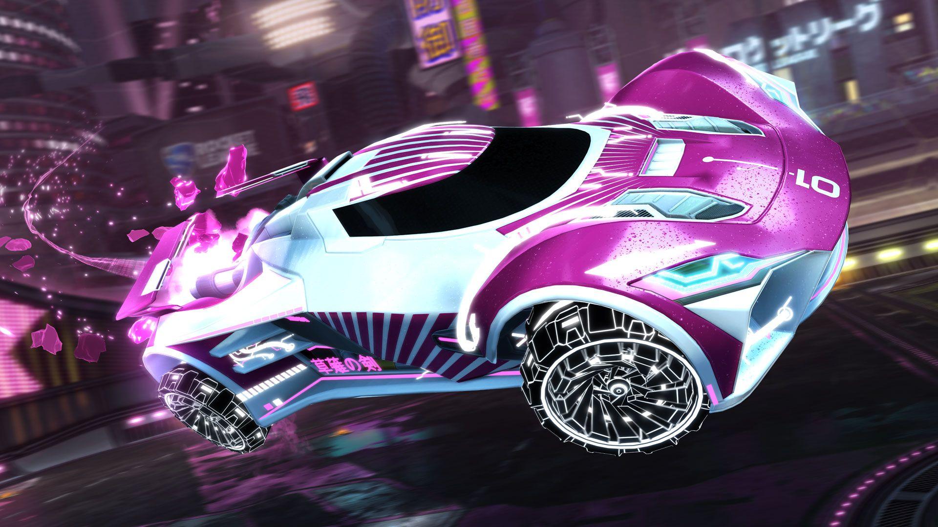 Neo Tokyo has taken over Rocket League in March