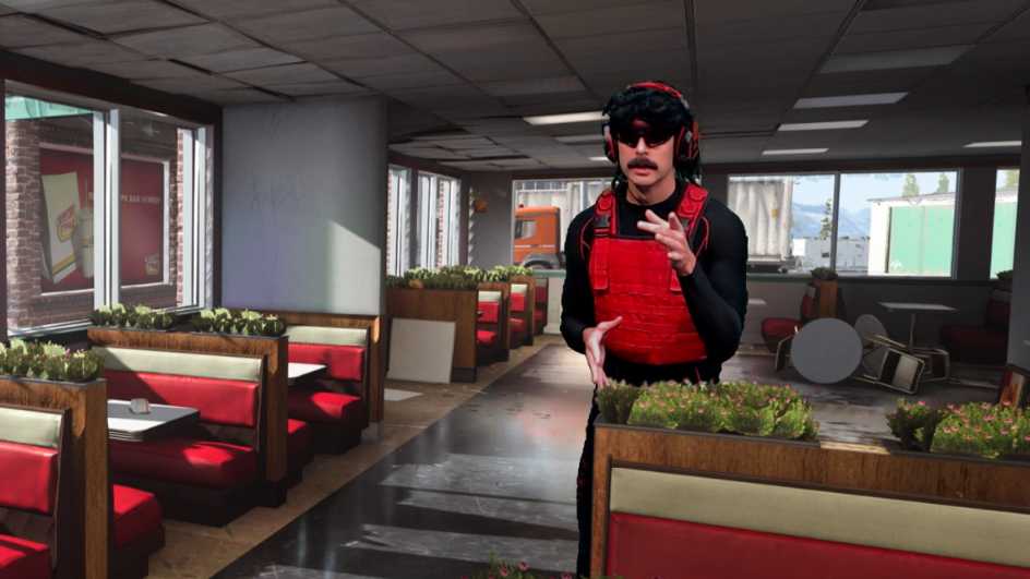 Dr Disrespect streaming on Twitch