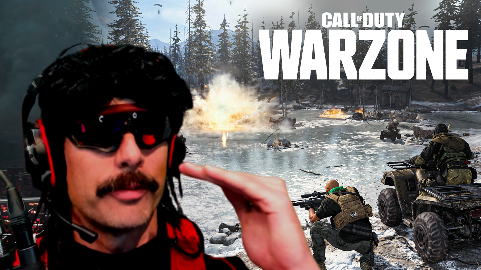 Dr Disrespect has outlined what Warzone needs to do next to keep momentum