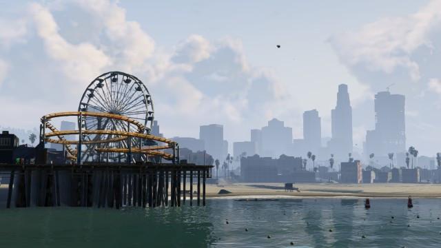 Pleasure pier glitch in GTA Online