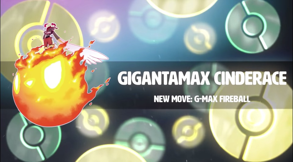 GMAX Cinderace in Pokemon