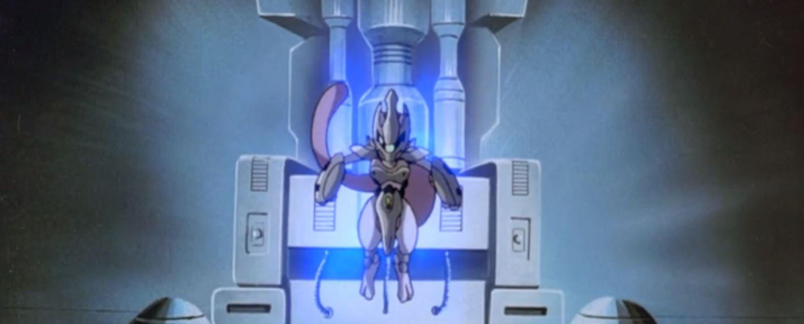 Pokemon Movie Armored Mewtwo