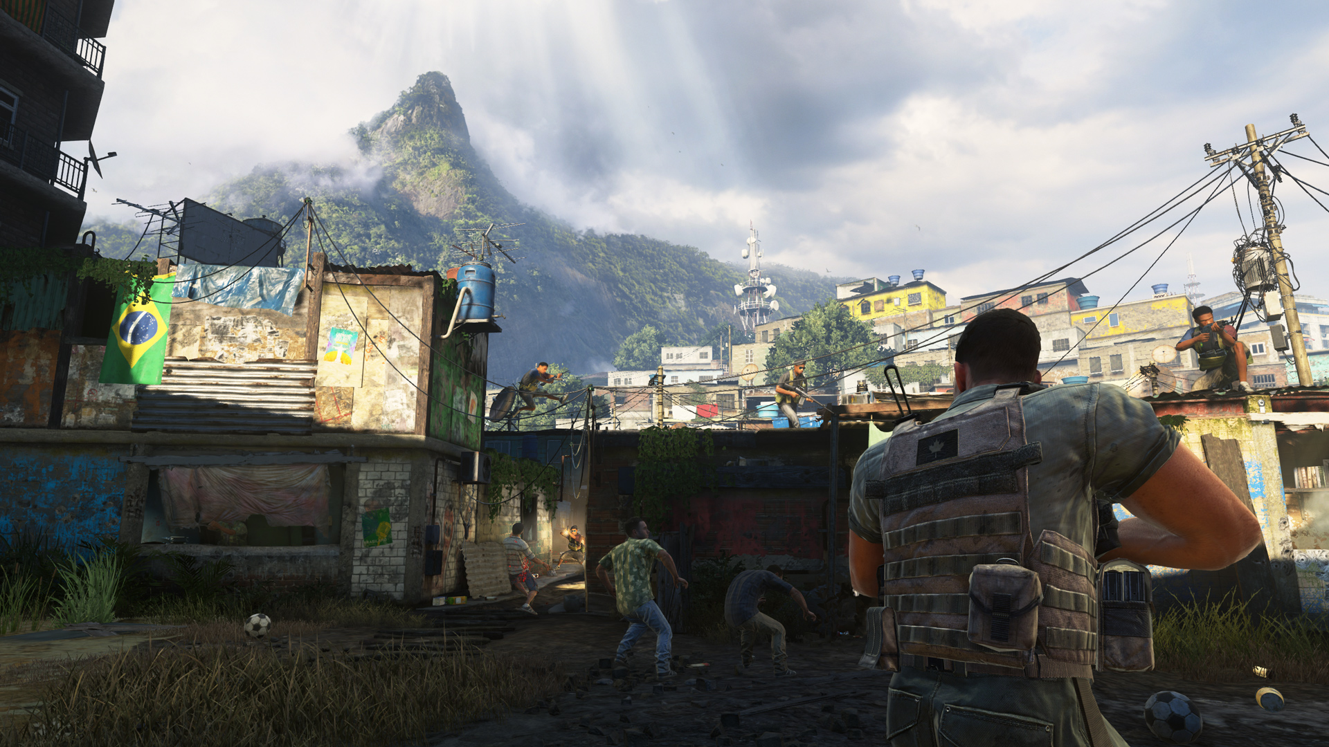 Favela from MW2.