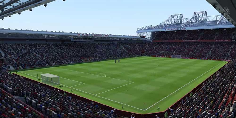 Old Trafford in FIFA 20