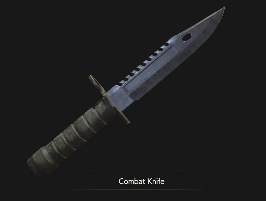 Combat knife for Resident Evil 3