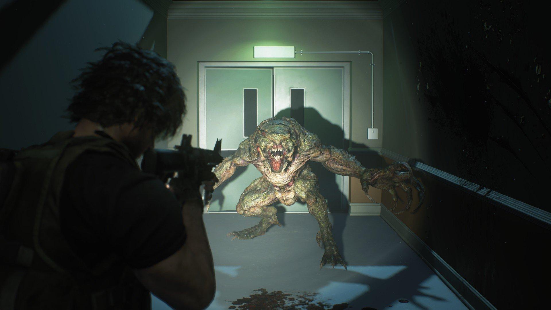 Dodging in Resident Evil 3
