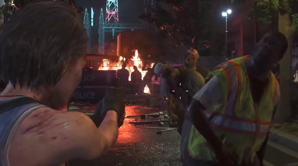 Dodging in Resident Evil