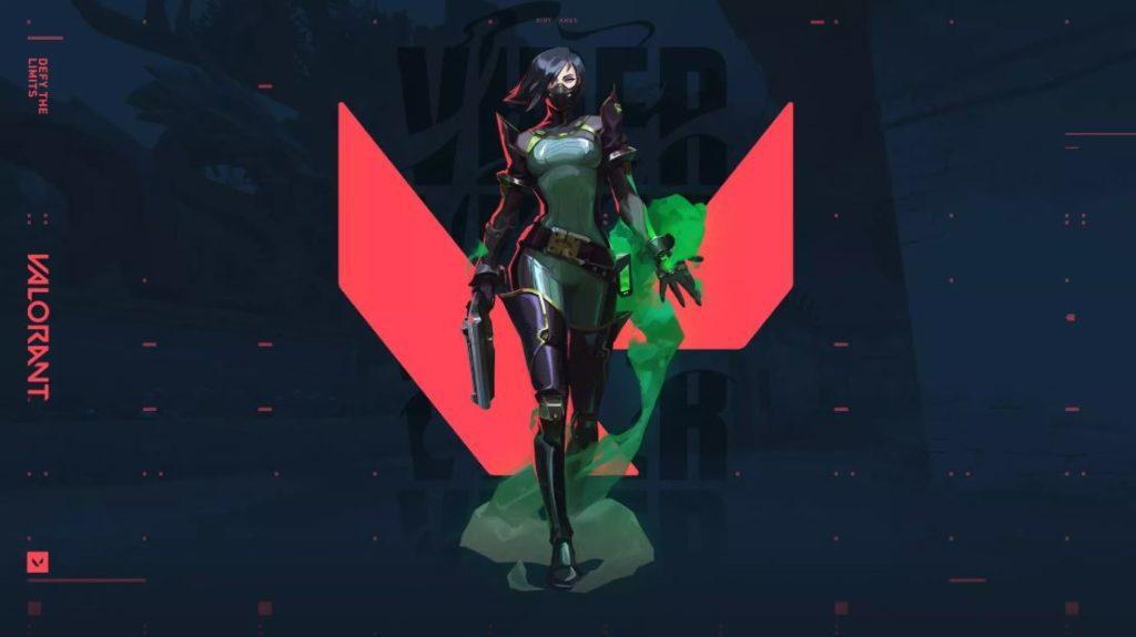 Viper wallpaper for Valorant