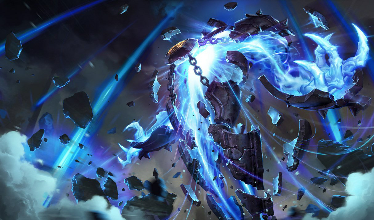 Xerath default splash art for League of Legends