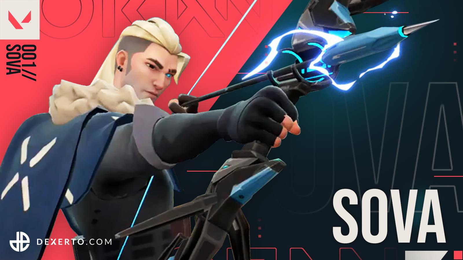 Valorant Agent Sova with bow