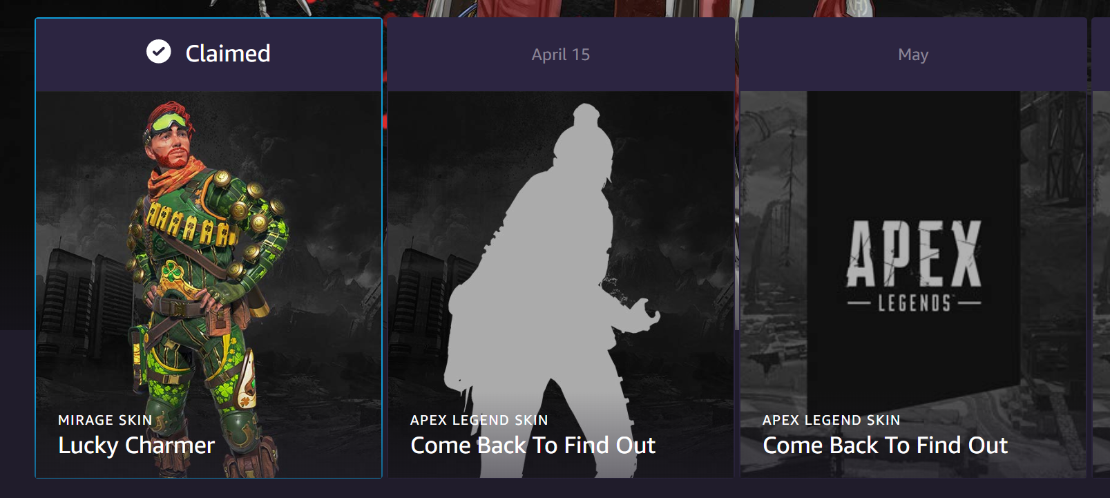 Wraith's Twitch Prime skin has been locked in for an April 15 release
