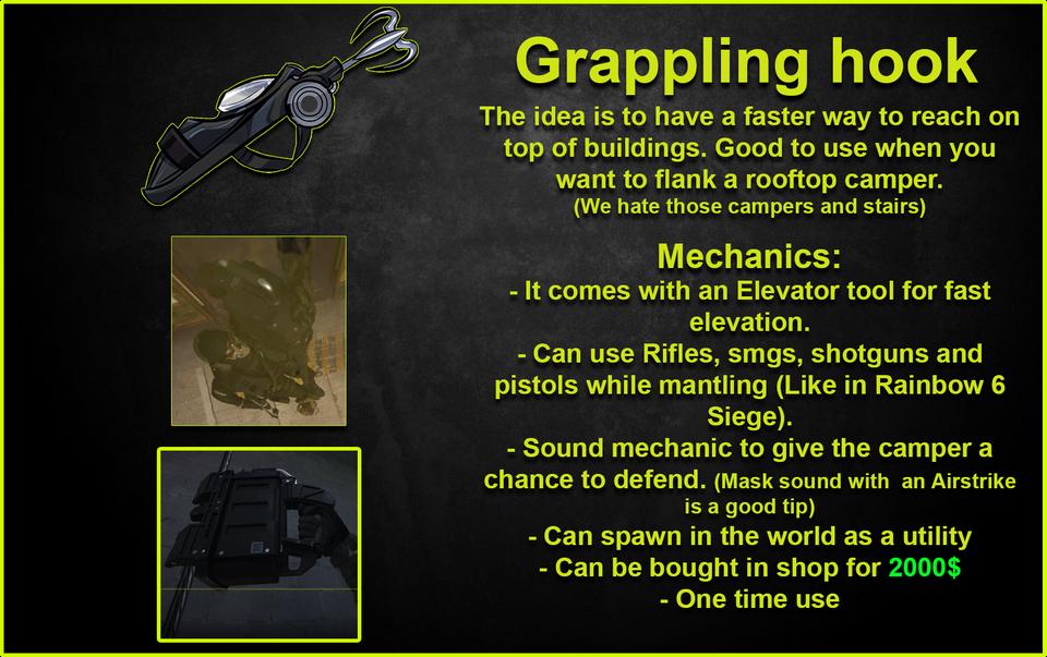 Rayledare's Grappling Hook in Warzone.