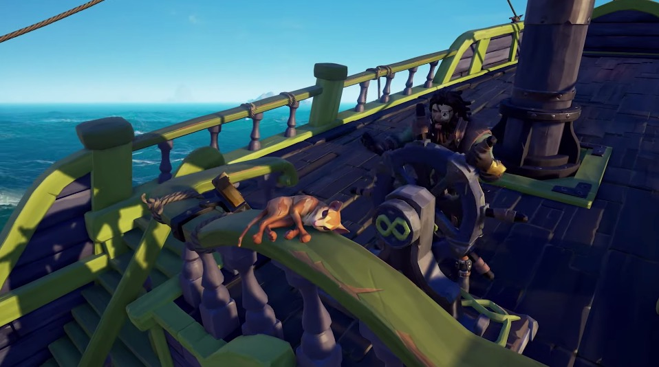 Sea of Thieves cats