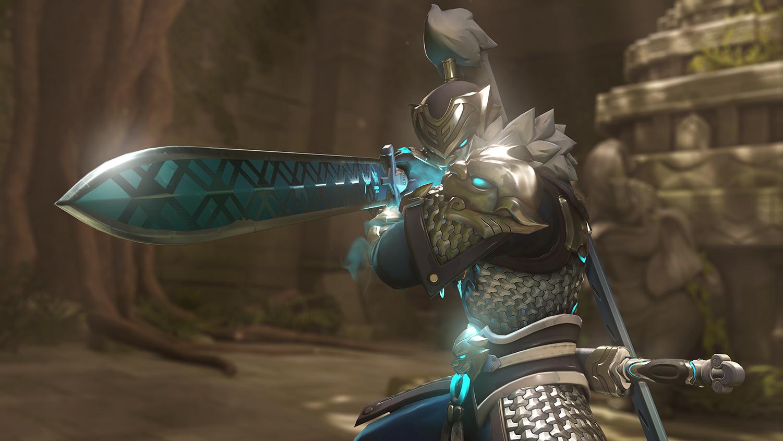 Genji activates Dragon Blade