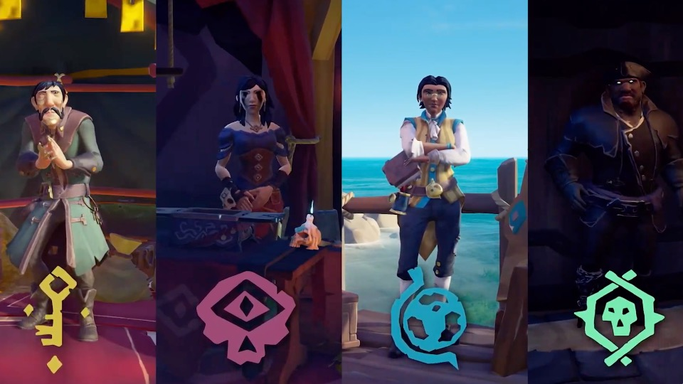 Sea of Thieves trading companies