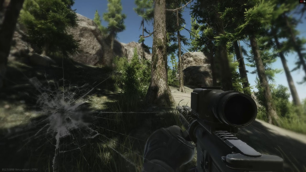 RIfle in Escape from Tarkov