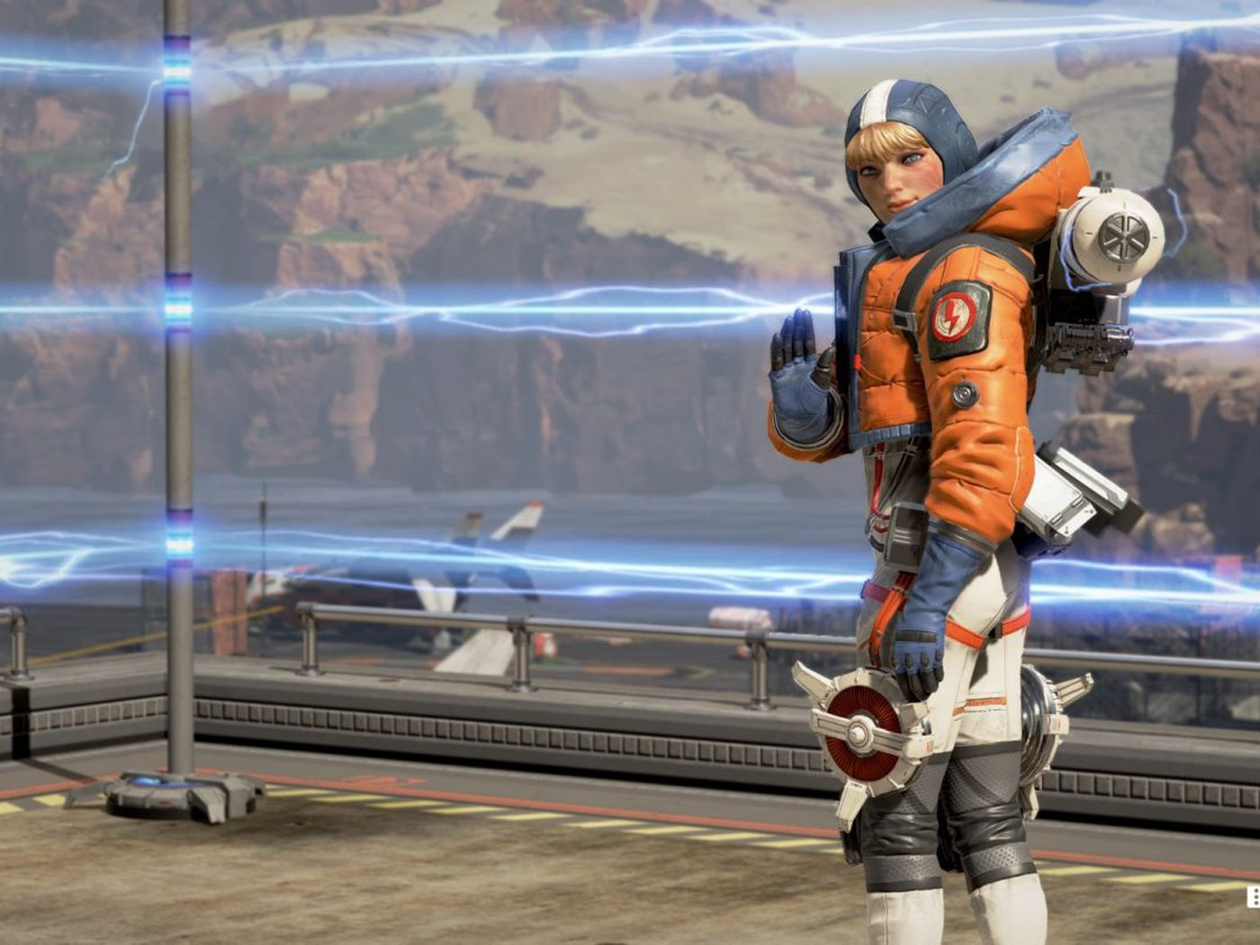 Wattson could be in line to get an Apex Legends heirloom after Bangalore and Caustic.