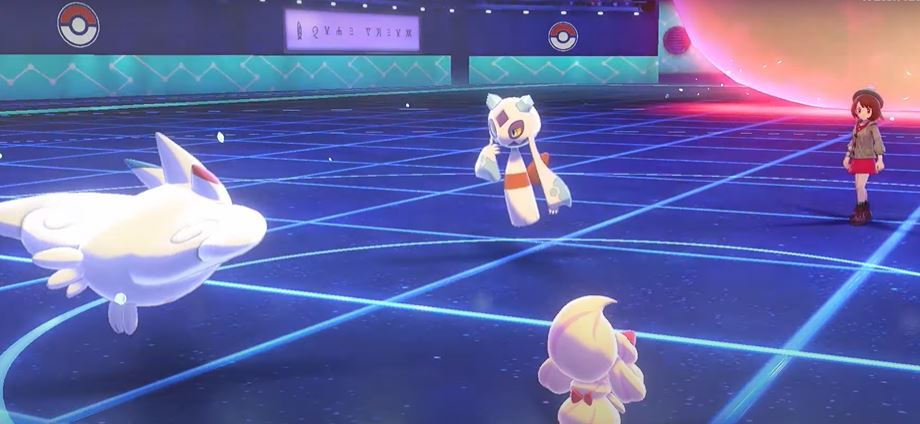 Pokemon Sword Shield Battle