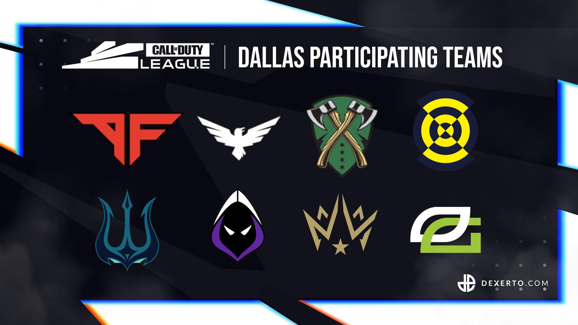 CDL Chicago participating teams.