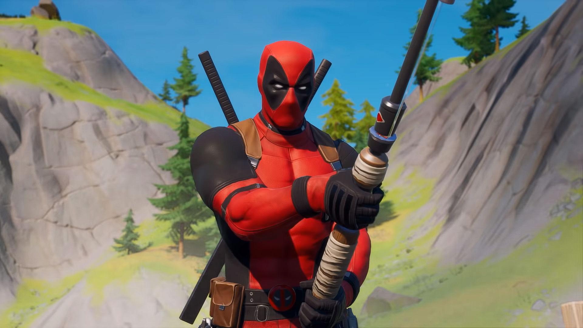 Deadpool in Fortnite