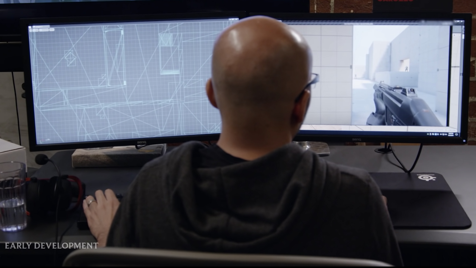 Developer working on Valorant