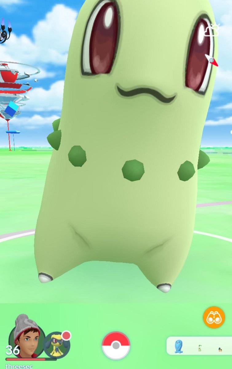 Gigantamax Glitch Pokemon Go Chikorita