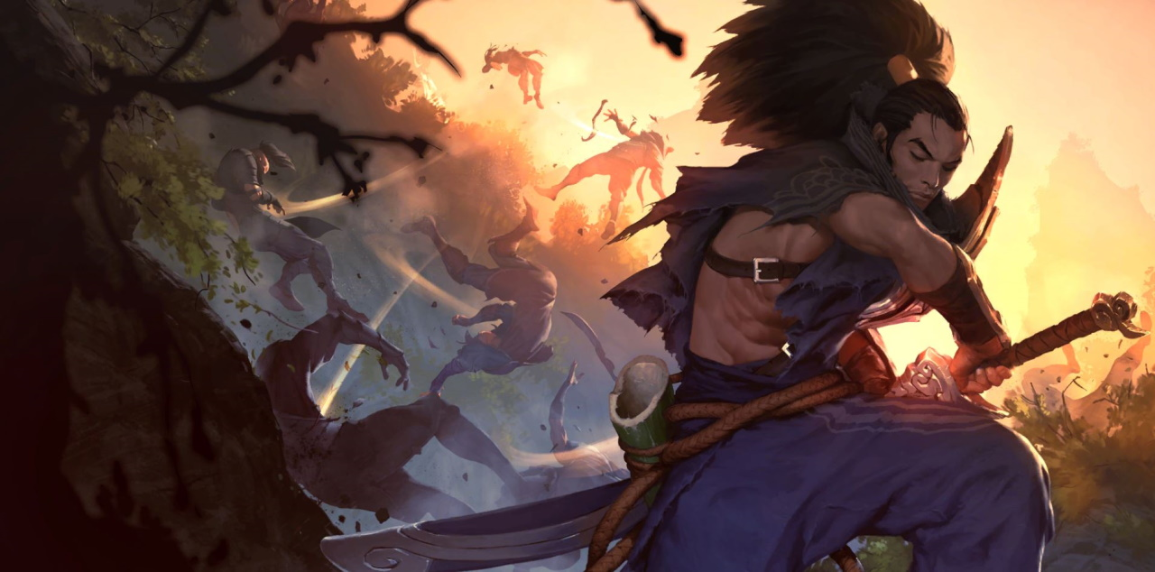 League's next champion release could be Yasuo's seemingly dead brother Yone.