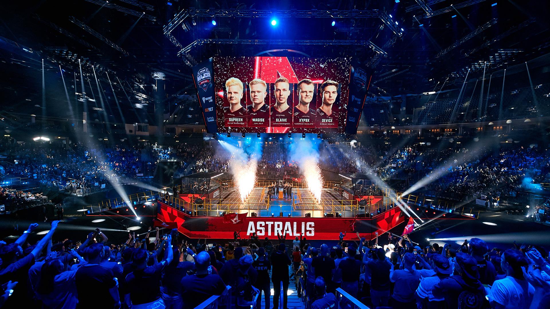 Astralis win StarLadder Berlin Major 2019.