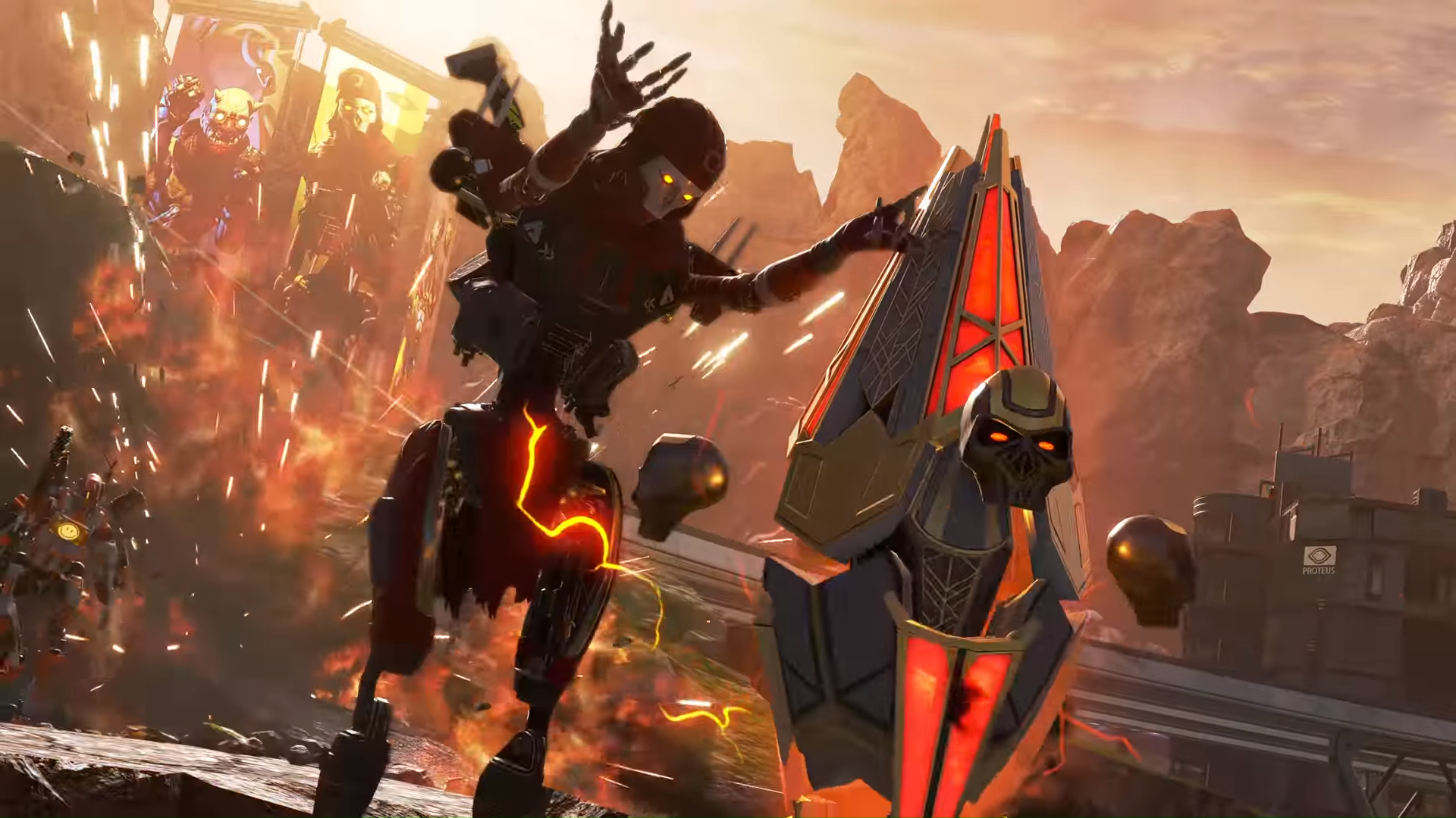 Apex Legends' Revenant using their Death Totem.