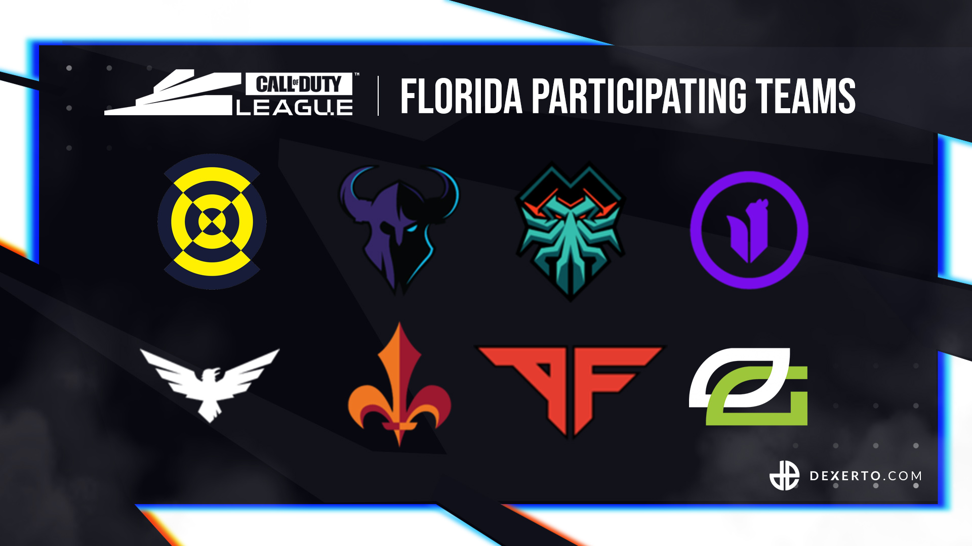 CDL Florida participating teams.