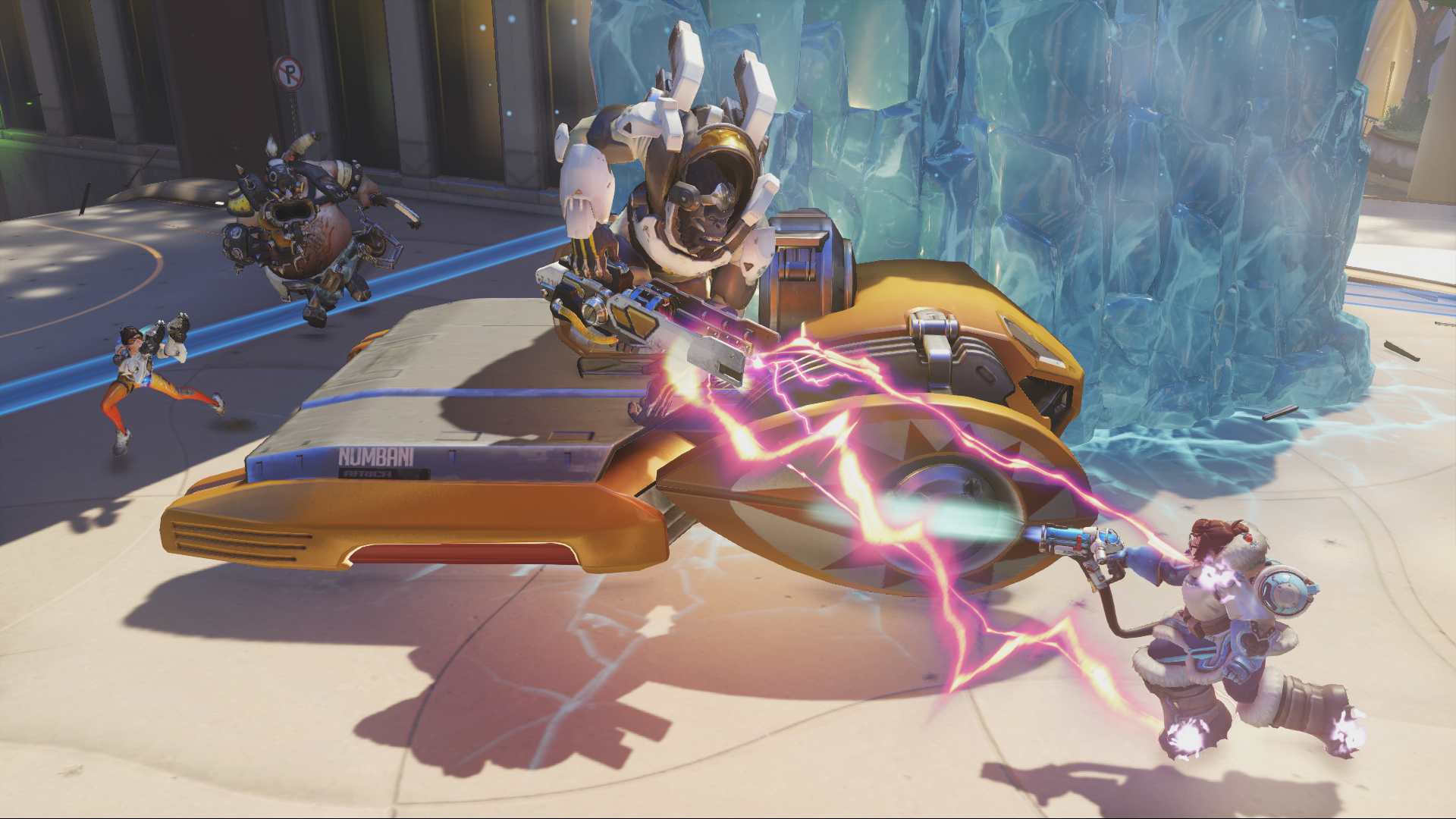 Fortnite may have just nicked Overwatch's iconic payload game mode for its latest LTM.