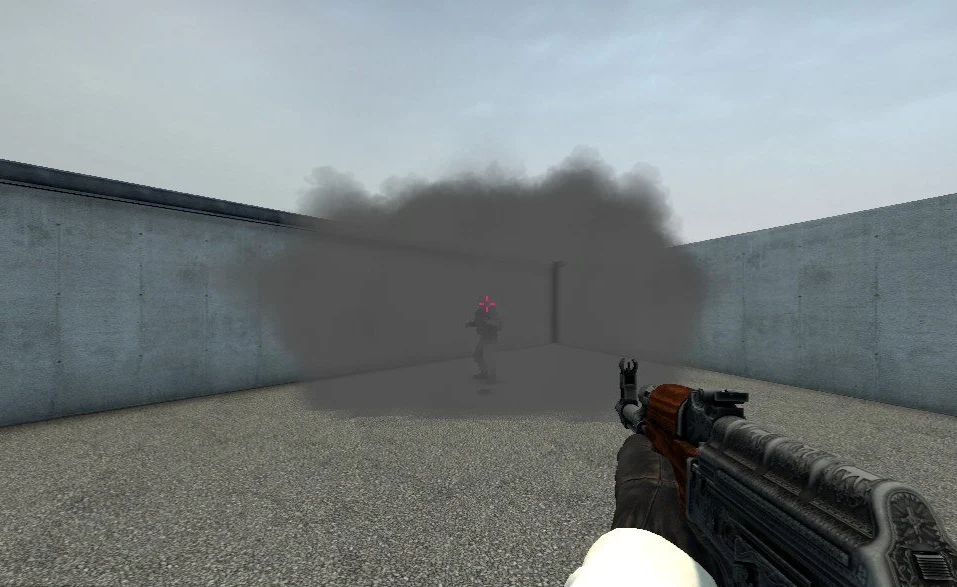 Smoke bug in CSGO.