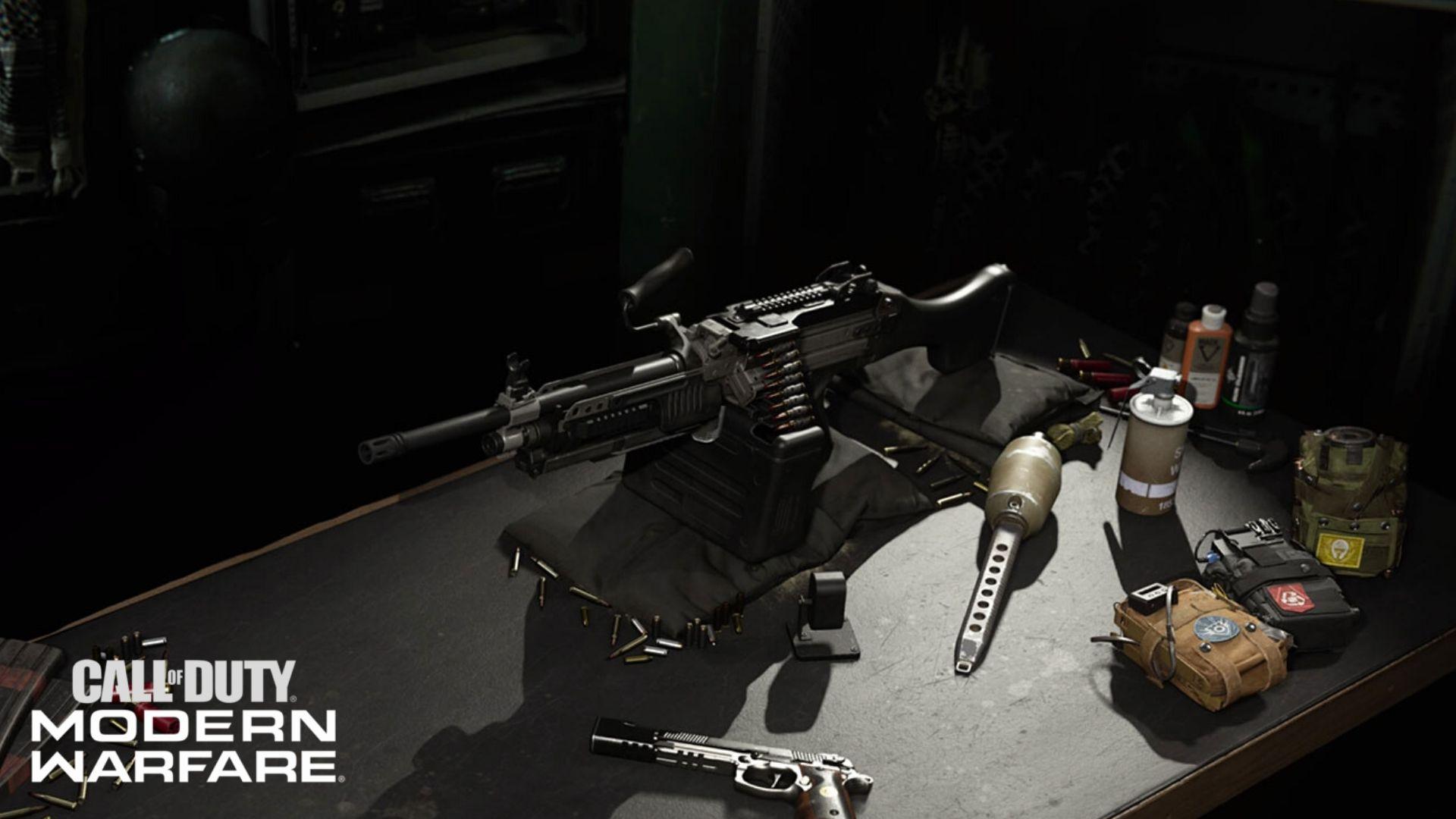 Bruen MK9 in CoD Modern Warfare