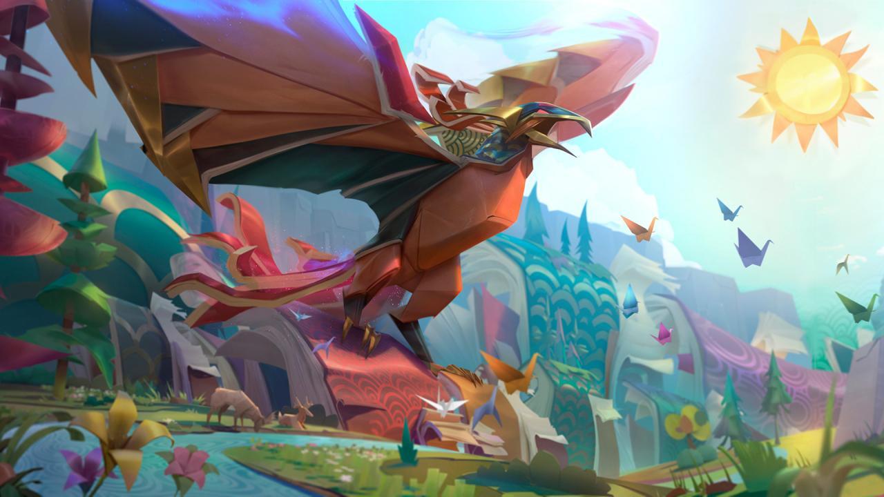 Papercraft Anivia in League of Legends