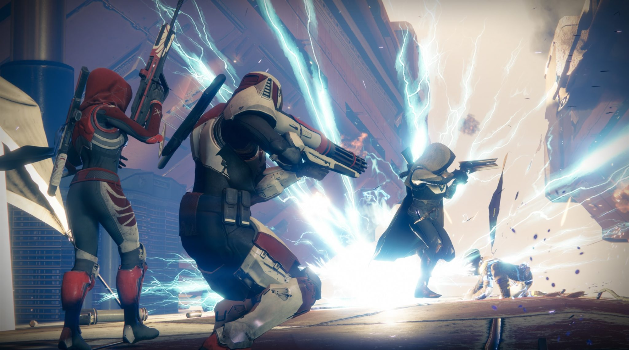 The Crucible has been awash with bright lights as the Hard Light flexed it's muscles -- until now.