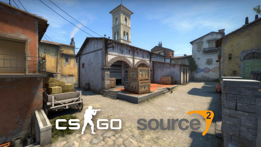 Inferno map in CSGO
