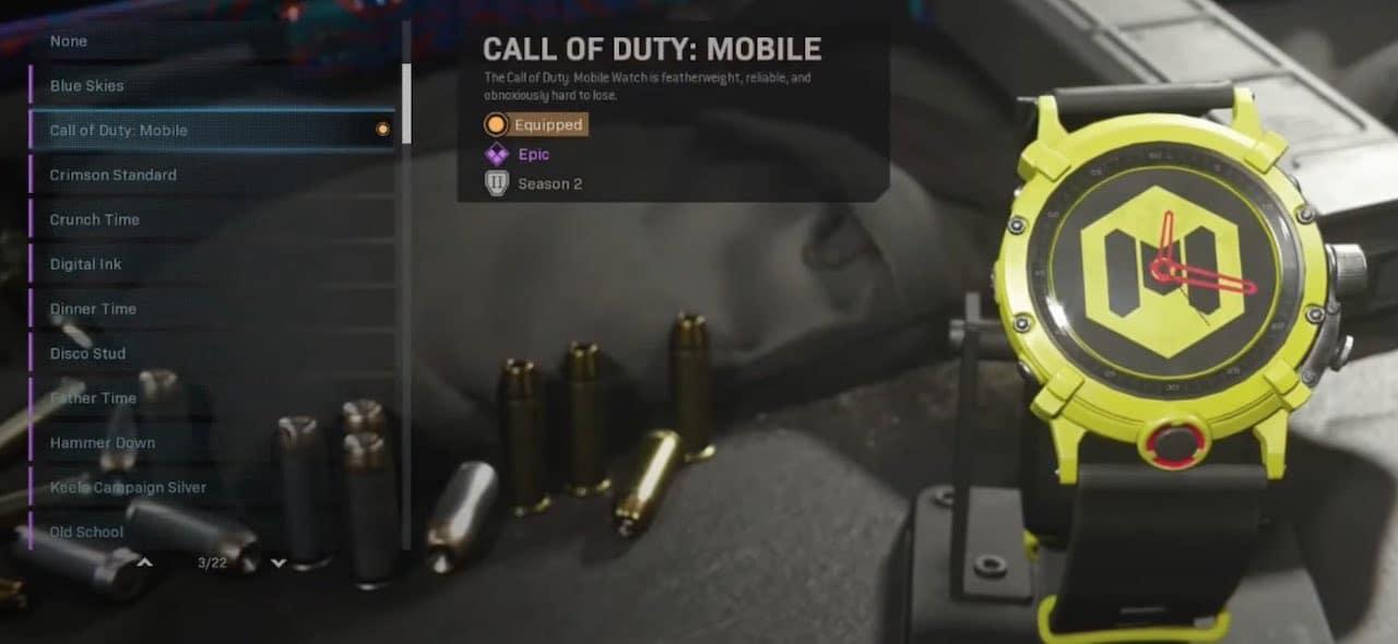 Call of Duty: Mobile watch in Modern Warfare.