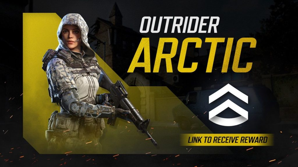 Outrider skin in Call of Duty: Mobile.