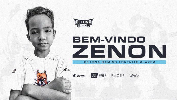 Fortnite player zenon