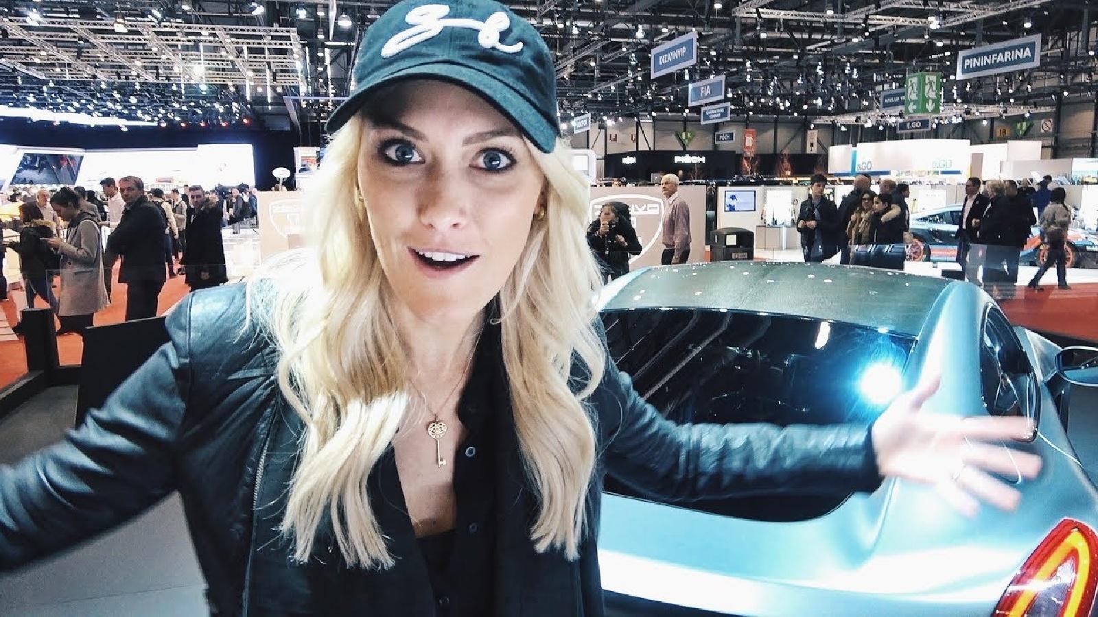 Youtuber Supercar Blondie Unveils Her New Ultra Luxury Car Dexerto