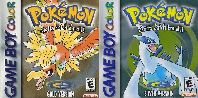 Pokemon Gold Silver Cover