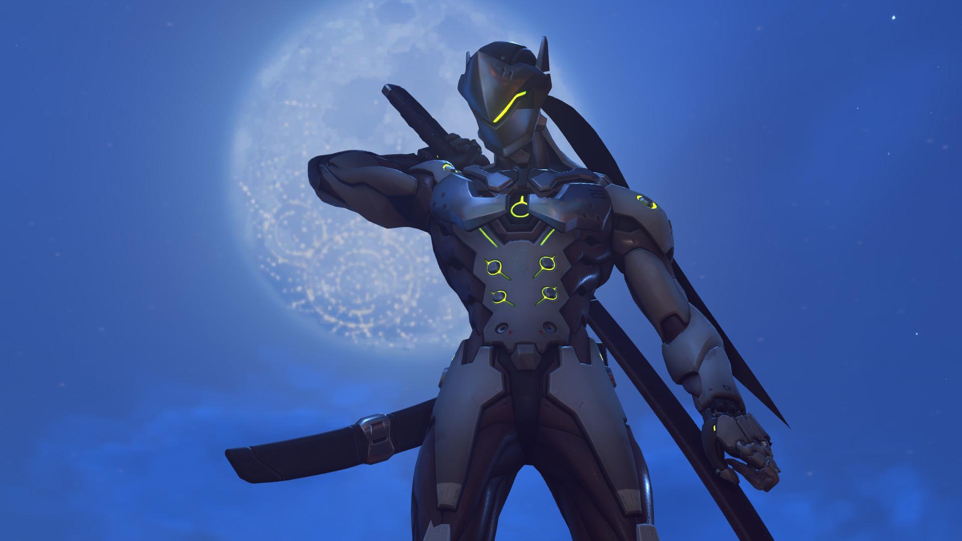 Overwatch Genji in-game