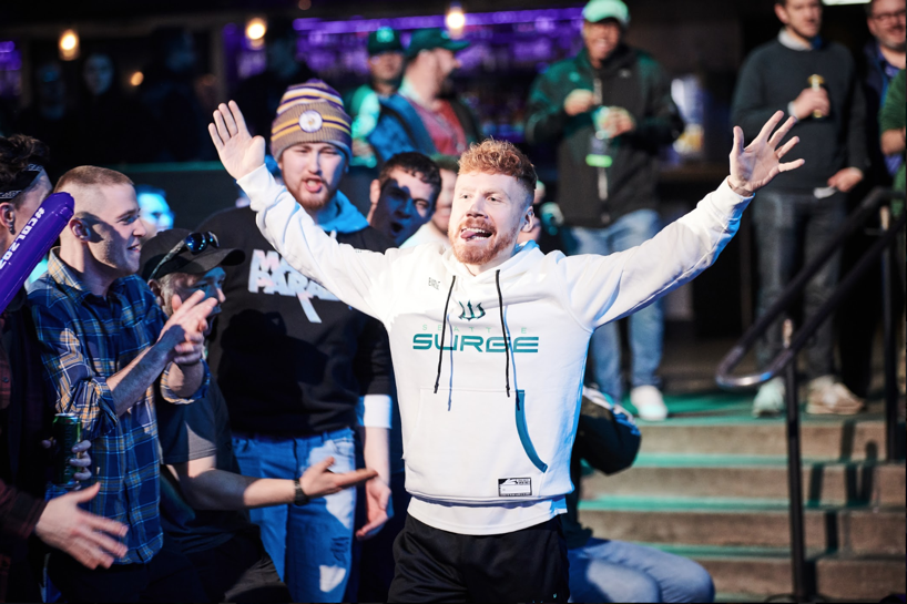 Enable at CDL Minnesota in a Seattle Surge jumper