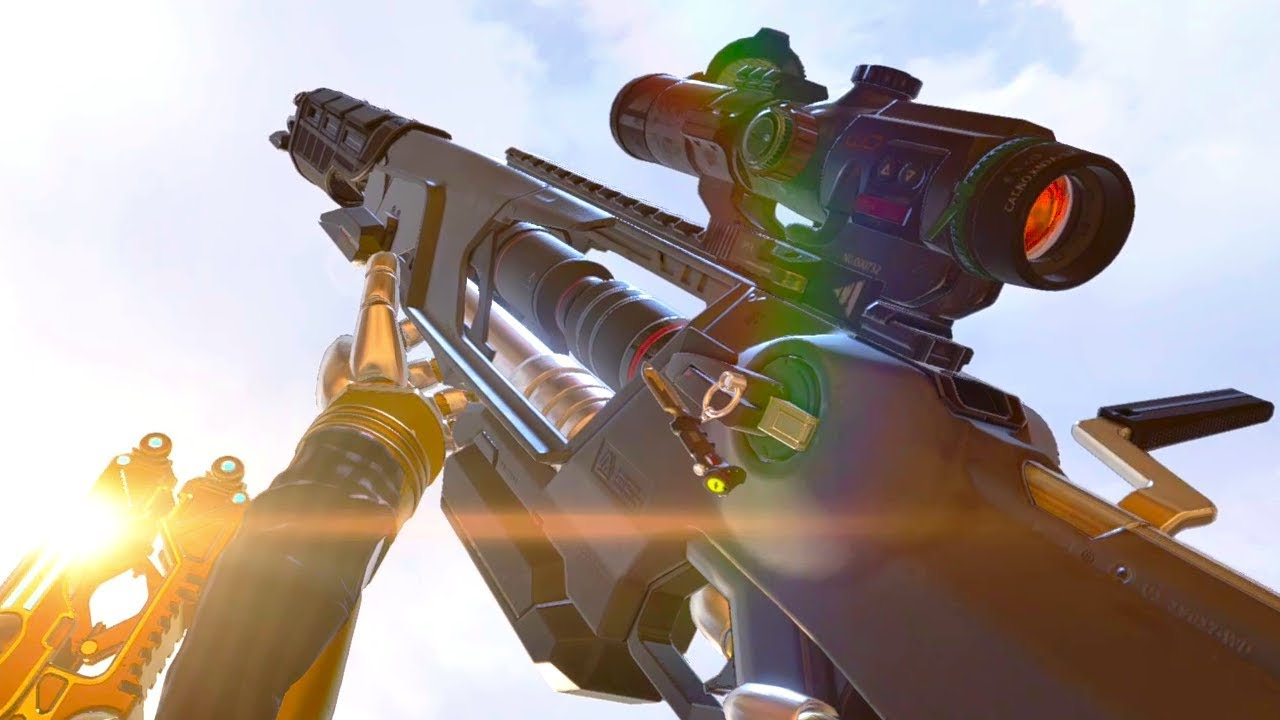 Season 4's Sentinel sniper rifle is still the newest weapon in Apex Legends.