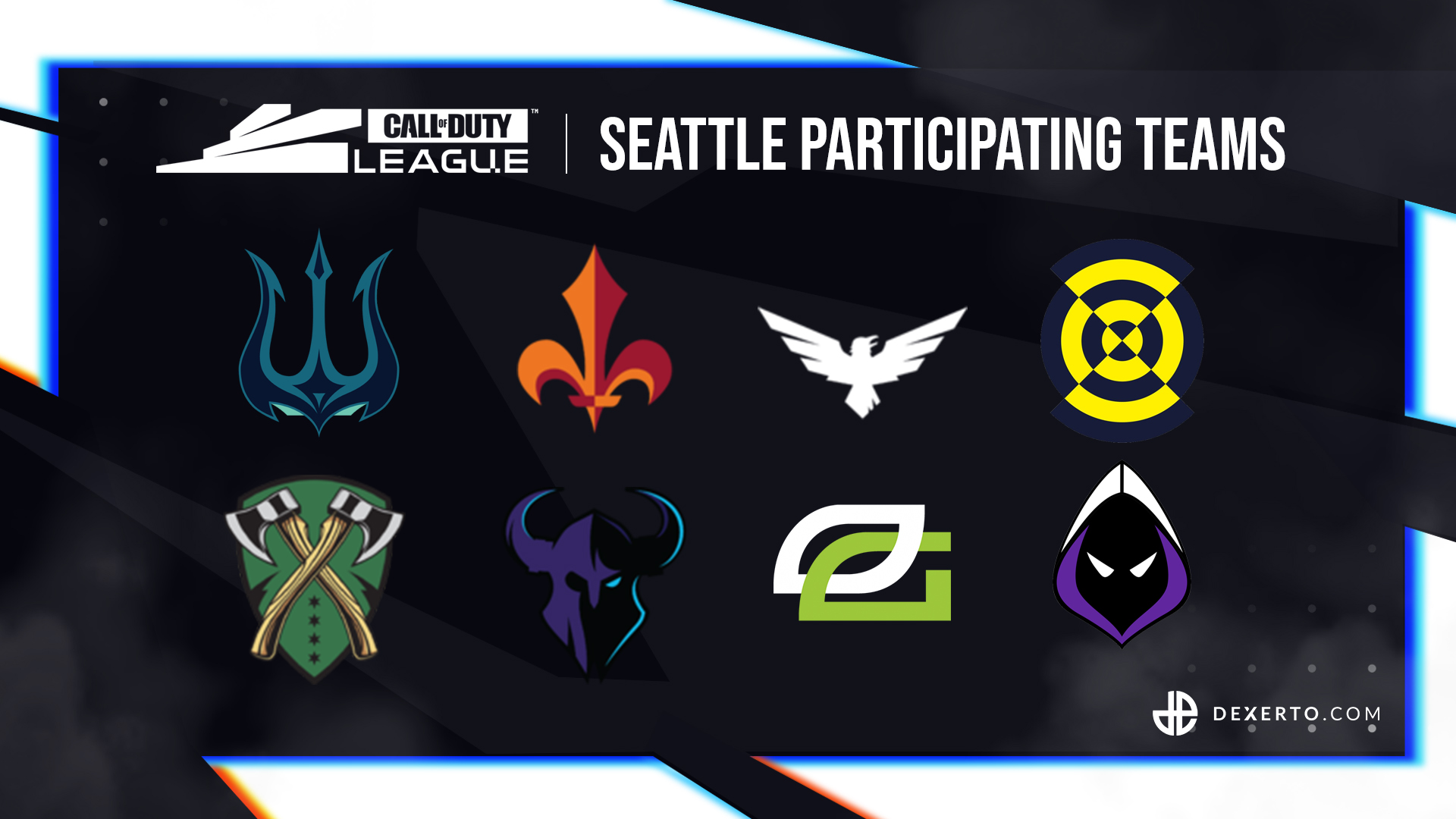 CDL Seattle participating teams.