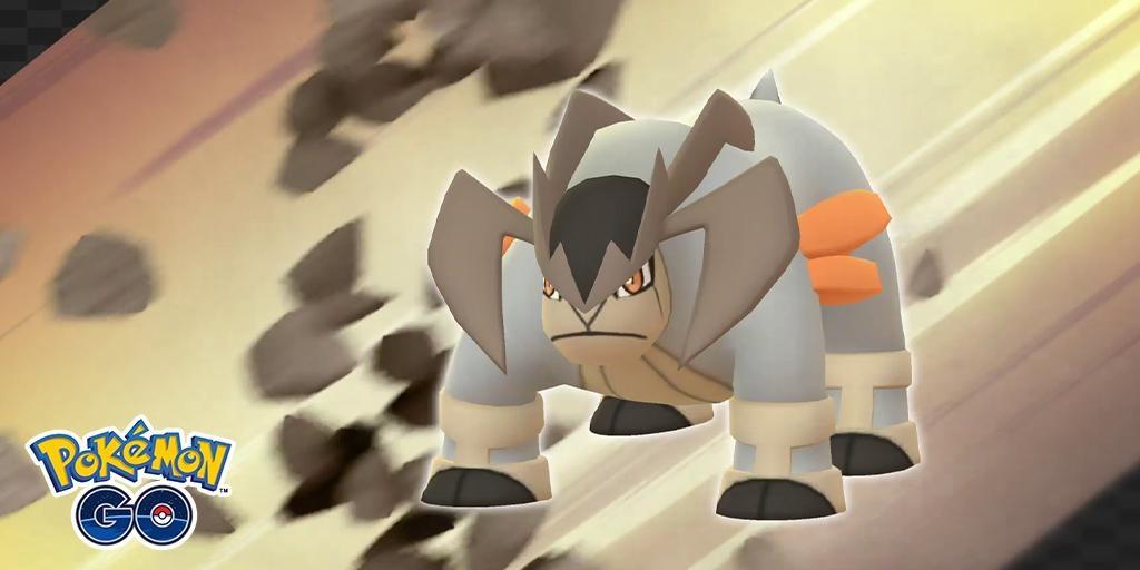 Terrakion Pokemon Go Weak