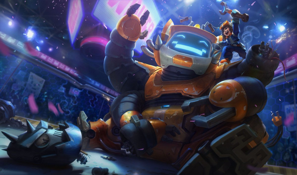 Nunu Bot splash art for League of Legends